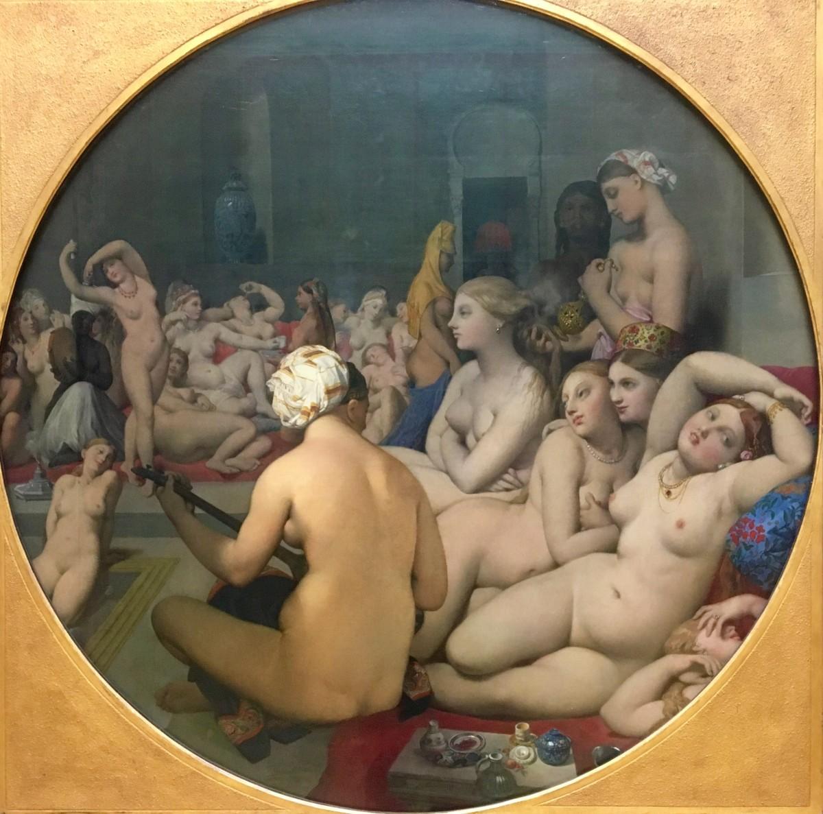 Le Bain Turc, Jean-Auguste-Dominique Ingres