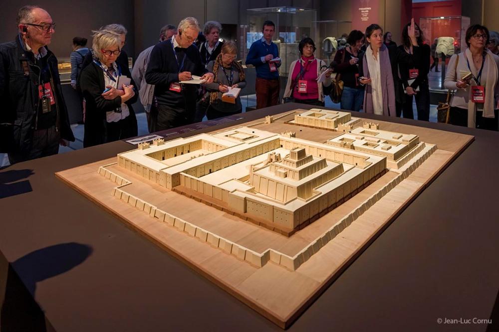 """Viste de presse pour l'ouverture de l'exposition: """"Tout commence en Mésopotamie"""". Musée Le Louvre-Lens. Lens. 02-11-2016"""