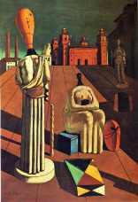 Giorgio De Chirico, Les Muses inquiétantes (1916-1918)