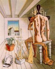 Giorgio De Chirico, Les Muses du silence (1917)