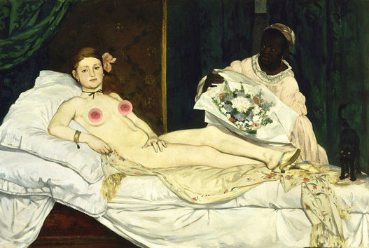 Manet - Olympia