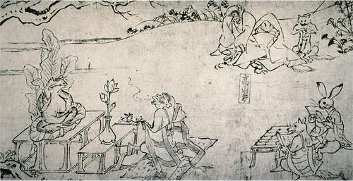 Chôjû-giga Bouddha