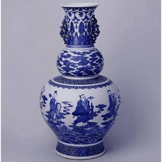 Vase bleu de cobalt - © China Online Museum