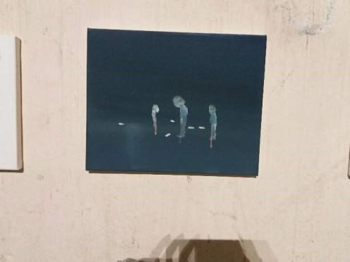 Un des tableaux de Luisanna Gonzalez Quattrini
