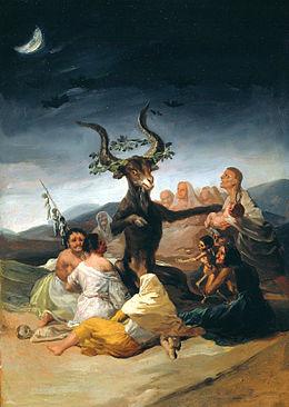 goya sabbat des sorcières 1798