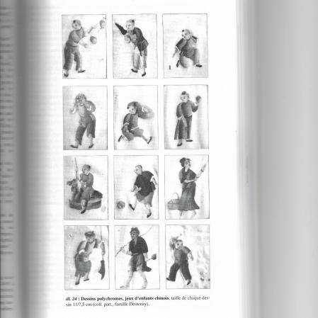 Dessins préparatoires polychromes - © Beaux-Laffon 2001