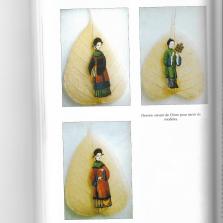 Dessins préparatoires polychromes sur feuille - © Beaux-Laffon 2001