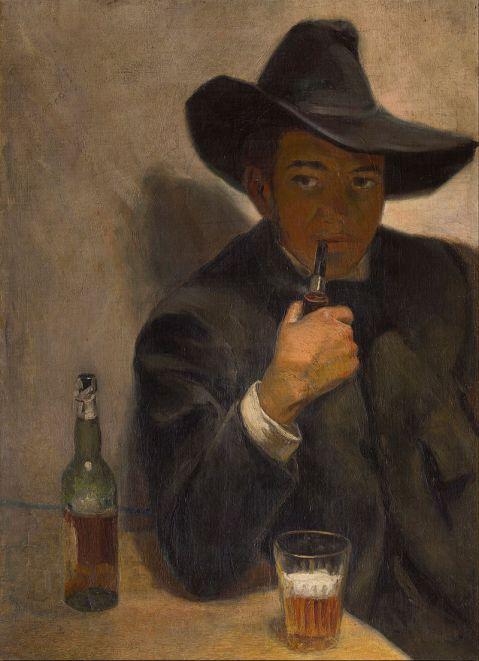 Diego Rivera - Autoportrait avec chapeau - Musée Dolores Olmedo de Mexico
