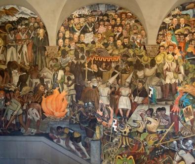 Diego-Rivera-Histoire-du-Mexique-1930-01-Medium