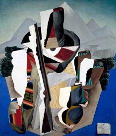 Diego Rivera - Paysage Zapatiste (1915) - Museo nacional de Arte de Mexico