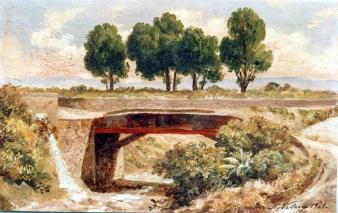 José María Velasco - Barranca del muerto (1909)