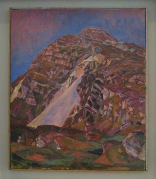 Giacometti - La montagne (vers 1930).