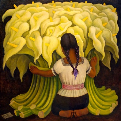 Diego Rivera - La vendeuse de fleurs (1942)