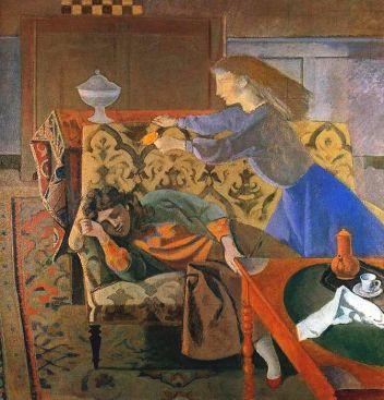 Balthus - Le Rêve II (1956-57).