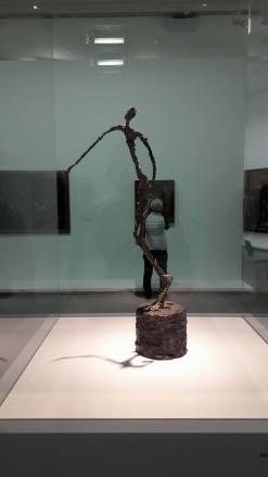 L'homme qui chavire, Giacometti