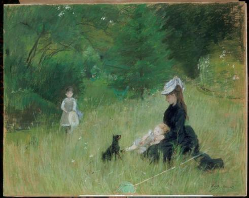 Dans le Parc Morisot