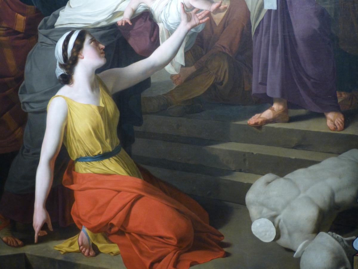 Joseph-Benoît Suvée : De Bruges à Rome, un peintre face à David