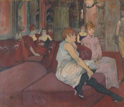 Salon de la rue des Moulins (1894)