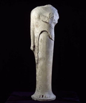 Koré, © Musée du Louvre, Daniel Lebée et Carine Deambrosis