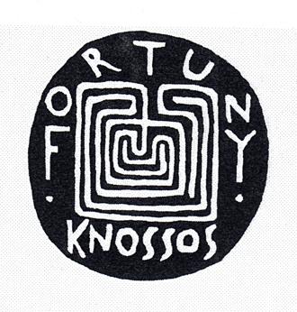 Logo Fortuny Knossos, ©artetsocietes.org