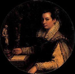 Lavinia Fontana, Autoportrait (1588)