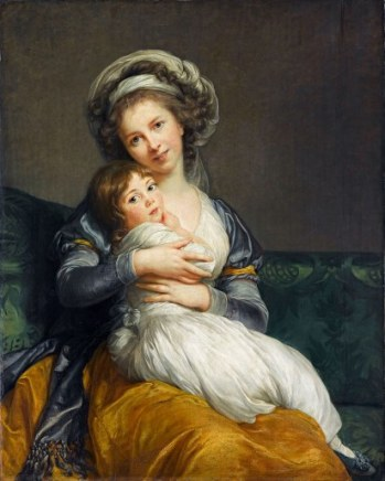 Elisabeth Vigée-Lebrun, Autoportrait avec sa fille (1786)