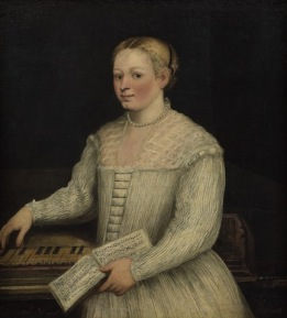 Marietta Robusti - Autoportrait au madrigal