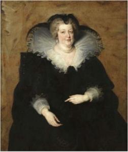 Portrait Marie de Médicis