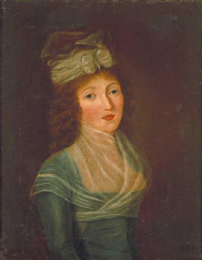 Portrait de Louise Boulé de la Balmondière par Jeanne Marie de la Balmondière