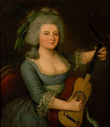 Portrait de M. Philiberte de la Balmondière par Jeanne Marie de la Balmondière
