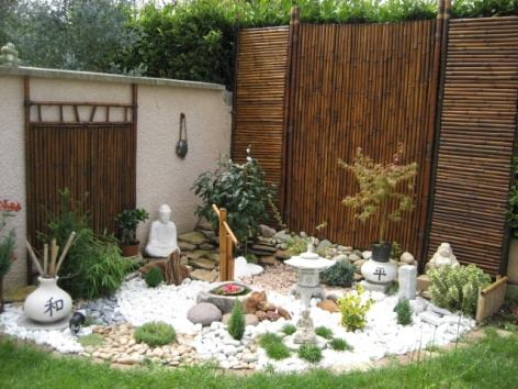 Reproduction d'un jardin zen