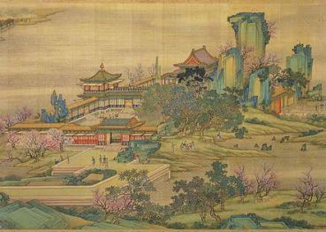 Le long de la rivière [de la capitale] au moment de la fête du Qingming