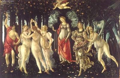 Le Printemps par Botticelli