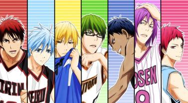 Les principaux personnages de Kuroko no Basuke