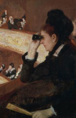 Mary Cassatt, In the lodge (Dans la loge), 1878, huile sur toile, Museum of Fine Arts, Boston, photo © 2018 Museum of Fine Arts, Boston