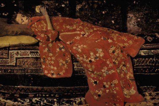 Breitner le kimono rouge