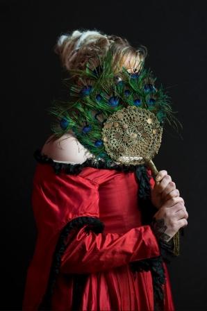Lili en costume d'opéra, série La vie est belle, Maison d'arrêt de Caen 2016
