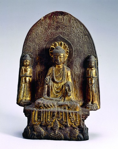 Stèle bouddhique2