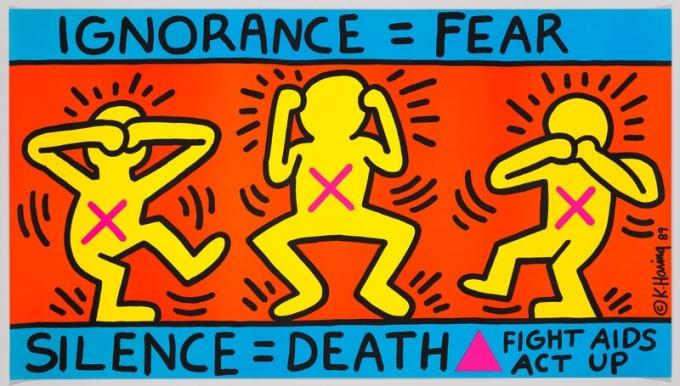 Ignorance=Fear,Silence=Death, 1989.jpg