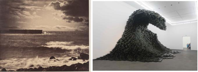Othoniel, Big Wave, Le Gray, la Vague