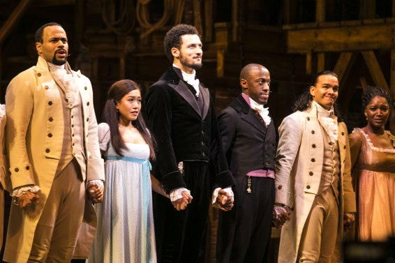 'Hamilton' musical, Press Night, London, UK - 21 Dec 2017