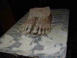 Socle de la statue de Djéser - musée Lauer, Saqqarah