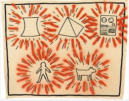 Keith Haring, Untitled, 1980.