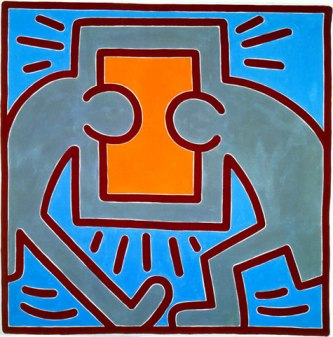 Keith Haring, Untitled, 1983.