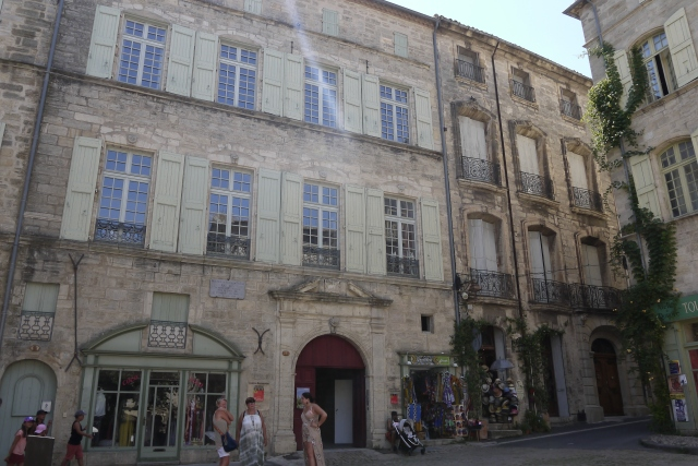 Hôtel Flottes de Sébasan, facade, Pézenas, Hérault