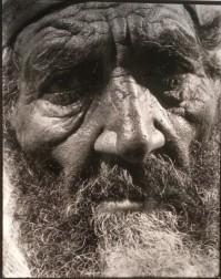 Vieux juif, tirage moderne d'après négatifs 24 x 30 cm, ©mahJ