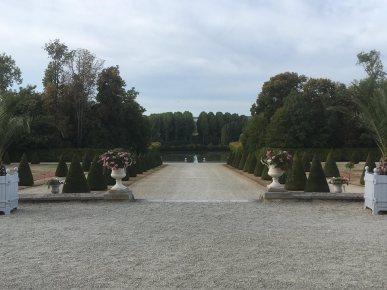 La perspective du château de la Motte-Tilly