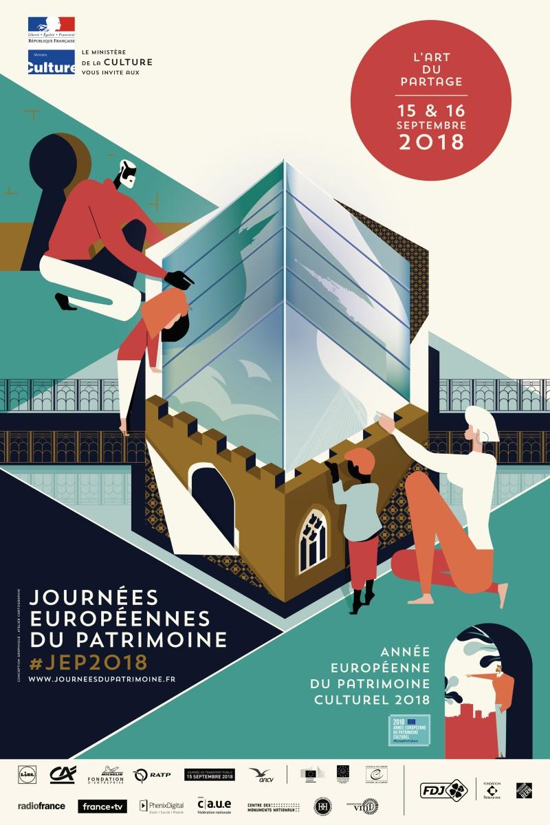 Les Journées Européennes du Patrimoine 2018