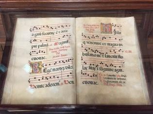 Antiphonaire espagnol du XVIe siècle