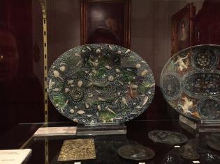 Plat attribué à Bernard Palissy, fin du XVIe siècle